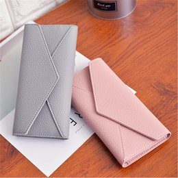 $enCountryForm.capitalKeyWord Australia - Women Leather Long Wallet Cards Holder 3 Fold Envelope Purse Clutch Ladie Wallets Female Money Bag Coin Purse Carteira feminina