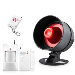 $enCountryForm.capitalKeyWord Australia - Wireless home house alarm siren system security alarm system speaker horn for GSM security US Warehouse