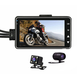 $enCountryForm.capitalKeyWord UK - Motorcycle Camera Dvr Motor Auto Dash Cam With Specialized Dual-track Black Front Rear Recorder Motorcycle Dash Cam #N car
