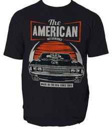 80b4d2c8 Mens Purple Muscle Shirt Australia - THE AMERICAN MUSCLE T shirt RETRO  MUSTANG CAR mens t
