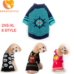 Discount chihuahua christmas clothes - Christmas Small Dog Sweater Clothes Warm Pet Puppy Coat Chihuahua Teddy Knitting Pullover Clothing Winter Pets Halloween