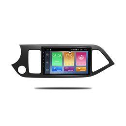 Gps Kia Rio Australia - IPS 2.5D Screen 2GB Ram 32GB Rom 9 inch Android 8.1 Car DVD GPS Car Radio For 2011-2014 KIA PICANTO Morning Touch Screen Multimedia Player