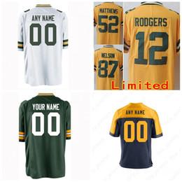 Cheap 12 Aaron Rodgers Green Bays Packers Jersey 23 Jaire Alexander 80  Jimmy Graham 37 Jackson 4 Brett Favre 17 Davante Adams 52 Matthews 07065fb21