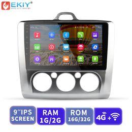 Focus Mk3 Australia - EKIY Car Multimedia Video Player GPS Navigation Android Autoradio For Ford Focus 2 3 Mk2 Mk3 Head Unit 1G+16G with 4G Modem