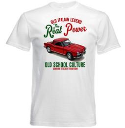 $enCountryForm.capitalKeyWord NZ - VINTAGE ITALIAN CAR ALFA ROMEO 1300 SPIDER. - NEW COTTON T-SHIRT Brand shirts jeans Print