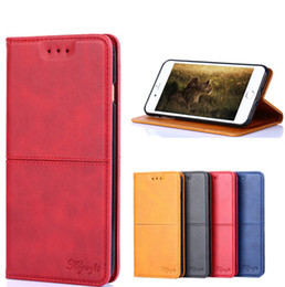 $enCountryForm.capitalKeyWord UK - For iPhone X XR XS MAX 6 6S 7 8 PLUS Advanced Credit Card Slot Photo Frame Wallet PU Leather Phone Case For Samsung S8 S9 S10 Plus