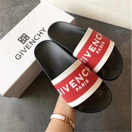 $enCountryForm.capitalKeyWord NZ - Designer Rubber slide sanda unisex slipper Gear bottoms GG Flip Flops women striped Beach causal slipper with Box US5-11