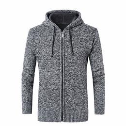$enCountryForm.capitalKeyWord Australia - Men's Sweaters Thick Warm Winter Zipper Pullover Cashmere Wool Sweaters Man Casual Knitwear Fleece Velvet Clothing Big Size
