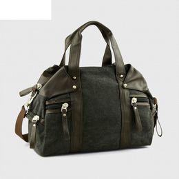 9f2f7b3e0a33 good quality 2019 New Travel Luggage Duffle Bag Casual Mens Handbags Canvas  Traveling Shoulder Bag Men Travel Bags Bolsa Feminina