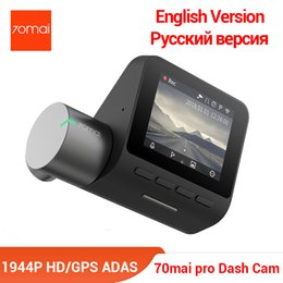 Voice Controlled Cameras Australia - 70mai Pro Dash Cam English Voice Control Smart Car DVR 1944PHD Camera Parking Monitor 140 FOV Night Version
