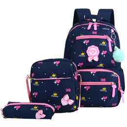 Discount backpacks princesses - Puimentiua Children School Bags Girls School Backpack Schoolbags Kids Princess Backpack Primary Mochila Infantil
