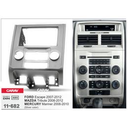 Radio fascias online shopping - CARAV Car Radio Fascia Panel for Tribute Escape Stereo Fascia Dash CD Trim Installation Kit