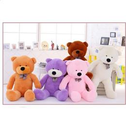 Huge bears toy online shopping - Large Teddy Bear Plush Doll Stuffed Toys GIANT HUGE BIG SOFT PLUSH Halloween Christmas Gift metre qy F1