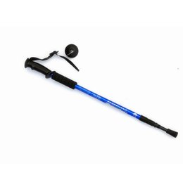 Camping rods online shopping - Designer Mountaineering rod outdoor equipment camping Trekking Poles multifunctional folding stretching aluminum alloy ultra light hot sale