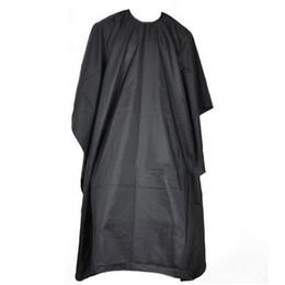 Cotton Cloth Apron Australia - Adult Hair Cutting Aprons Professional Durable Hairdressing Salons Black Adult Haircut Salon Wai Cloth Aprons Shaved Wai Cloth BH0890 TQQ
