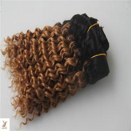 6a Deep Wave Hair Australia - T1 4 Color Deep Wave Virgin Hair Weaving 100% Human Hair Weave Bundles 6a Unprocessed Virgin Hair Extension