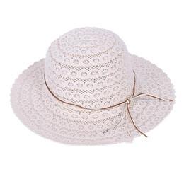 fcf09382 New Hot Women's Summer Beach Sun Hats,UPF Foldable Bohemia Wide Brim  Roll-up Straw Hat