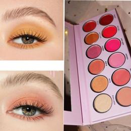 Peach Eyeshadow Australia - 2019 Newest The Valentine Palette Theroyal Peach Eyeshadow Palette 12 Colors Pressed powder eye shadow palette
