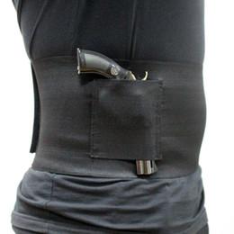 Venta al por mayor de Tactical Slim Wrap Encubierto Carry Banda de pistola Pistola Banda de pistola Pistolera de 30-37 pulgadas
