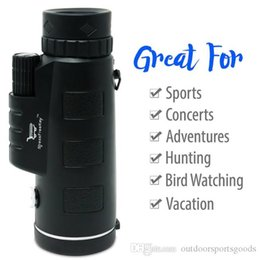 tactical telescope Canada - Wholesal Single telescope mobile telescope 12X50 HD telescope Exercise outdoors Tactical Accessories the remote view of the animals