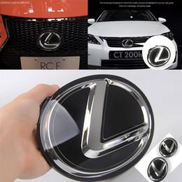 Lexus Modificou o Padrão do Carro LEXUS Black Mirror Logo Car Logo Rear Tail Logo em Promoção