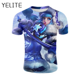 d6a4438499e2 YELITE Game Mobile Legends Printed 3D T-shirt Men Cool Hiphop Streetwear T  shirt Summmer Tee shirt Boys Fashion Hipster Clothing