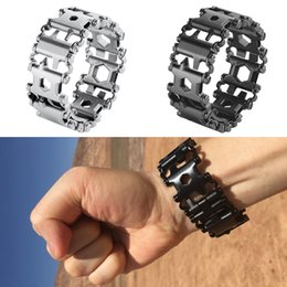 $enCountryForm.capitalKeyWord Australia - Outdoor Brand bracelet Followers Creative Fashion Tools Bracelet Wearing Equipment EDC Tools Combination Tool bracelet MMA2148