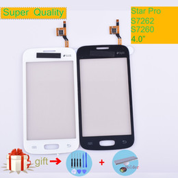 $enCountryForm.capitalKeyWord Australia - For Samsung Galaxy Star Pro S7262 GT-S7262 S7260 GT-S7260 Touch Screen Panel Sensor Digitizer Front Glass Outer Lens Touchscreen