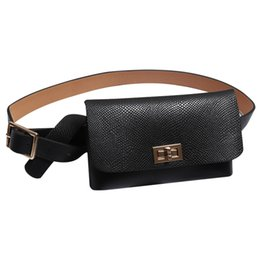 Wholesale Women s Waist bag Fanny Pack Fashion Bags For The Belt PU Material Square Package Hip Packs Serpentine Bum Bag Crossbody Pack