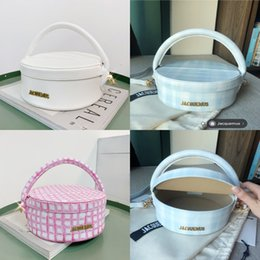 straw clutches UK - 2020 New Style Women Straw Woven Ag Andbag Shoulder Ag Rattan Clutch Asket Vintage Summer Each Tote #QA296