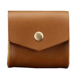 $enCountryForm.capitalKeyWord Australia - Genuine Leather Coin Purse Women Men Coin Pocket Small Multifunction coins Purse Hasp Male Card ID Holder Key storage package