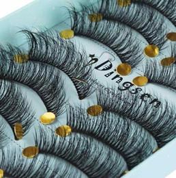 $enCountryForm.capitalKeyWord Australia - 10 Pairs 3d Soft Hair False Eyelashes Natural Messy Eyelash Crisscross Wispy Lashes Extension Eye Makeup Tools