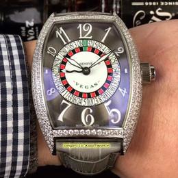 $enCountryForm.capitalKeyWord Australia - High Quality 8880 Las Vegas Casino Sexy Russian Turntable Silver Diamond Case Gray Dial CAL.SK Automatic Mens Watch Leather Strap 8 Style