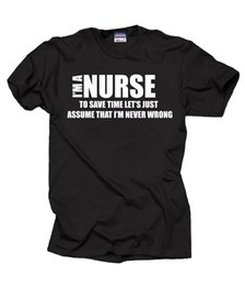 Gift For Nurse T Shirt Profession Occupation Tee RN NCLEX Birthday 2018 New Brand Mens Cotton Short Sleeve Print