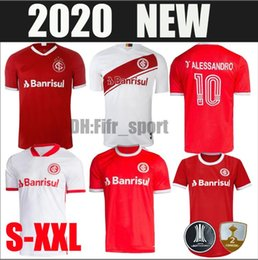 jersey soccer club NZ - 2020 2021 Brazil CLUB Internacional soccer jersey Man Female 20 21 home away football shirt N. LOPEZ D.ALESSANDRO POTTKER TOP QUALITY S-XXL