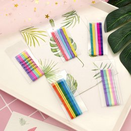 $enCountryForm.capitalKeyWord Australia - 10pcs 6cm Hair Clips For Hair Clip Hairpins Colorful Metal Waved Curly Barrettes Bobby Pins For Women Girls Styling Accessories