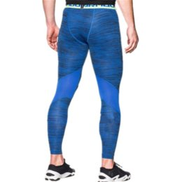 Solid Colored Leggings Australia - Men's U&A Compression Tight Leggings Under Base Layer Quick Dry Amor Slim Stretch Pants Skinny Fitness Workout Gym Running Trousers C42401
