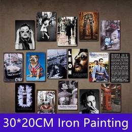 $enCountryForm.capitalKeyWord Australia - 30*20cm Metal Harley Retro Vintage Tin sign poster for Man Cave Garage shabby chic wall sticker Cafe Bar home decor