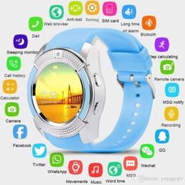 $enCountryForm.capitalKeyWord Australia - ALLCACA Smart Watch Bluetooth Smartwatch with Camera Touch Screen SIM Card Slot, Waterproof Phones Smart Wrist Watch Sports Fitness Compatib