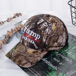 Discount american flag women hat 2020 Camouflage Donald Trump Hat American Flag Baseball Cap Keep America Great 3D Embroidery Letter Camo Adjustable for