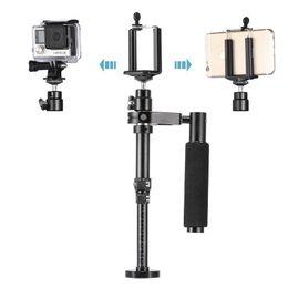 Gopro sjcam kit online shopping - Lightdow Handheld Portable Adjustable Length Video Shooting Stabilizer for SJCAM For GoPro Action Camera iPhone Samsung Smartphone