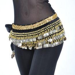 $enCountryForm.capitalKeyWord NZ - Belly Dance Coins Belt Oriental Belly Dance Clothes Accessories Belt Costume Accessories 338 Coins Hip Scarf For Women