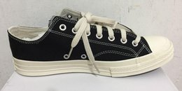 big eye sneakers Australia - New Play All Stars shoe CDG 1970 Canvas Jointly Big With Eyes Hearts Beige Black designer casual Skateboard Sneakers 35-44