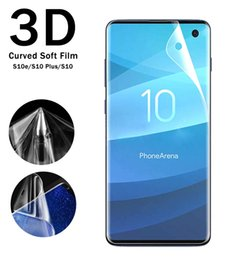 $enCountryForm.capitalKeyWord Australia - 3D Curved Full Cover Soft PET TPU Front Back Film Screen Protector For Samsung Galaxy S8 S6 S7 Edge Plus Note 8 DHL