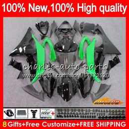 11 yamaha r6 fairings white Canada - Body For YAMAHA YZF 600 R 6 CC 600CC YZF600 YZF-R6 68NO.72 YZF-600 YZF R6 YZFR6 08 09 10 11 12 2008 2009 2010 2011 2012 Fairing green hot