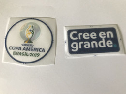 $enCountryForm.capitalKeyWord Australia - 2019 CONMEBOL Copa América soccer patch Campeonato Sudamericano de Selecciones CREE EN GRANDE FOOTBALL badge free shipping