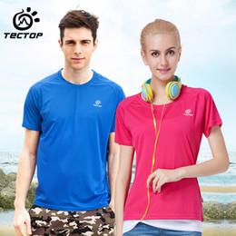 $enCountryForm.capitalKeyWord Australia - Tectop men women outdoor lovers t-shirt ultra-light breathable short-sleeve T-shirts camping hiking quick-drying t-shirt