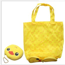$enCountryForm.capitalKeyWord Australia - Cute Bear Foldable Shoppping Bag Reusable Shopping Carry Bags Tote Easter Children's day Bag