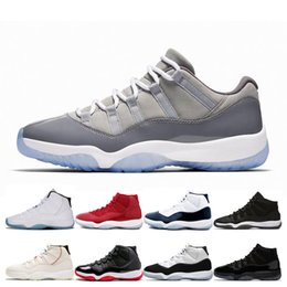 $enCountryForm.capitalKeyWord NZ - New 11 Men Basketball Shoes 11s Cool Grey Concord 45 Platinum Tint Space Jam Gym Red Bred High Designer Sneakers Men Sport Shoes