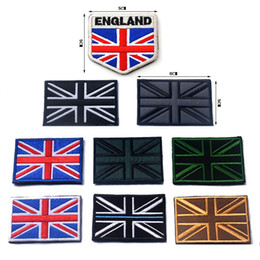 britain flags Canada - United Kingdom National Flag Embroidery Patch England Scotland Wales Flag badges for Tactical Union Britain British clothes